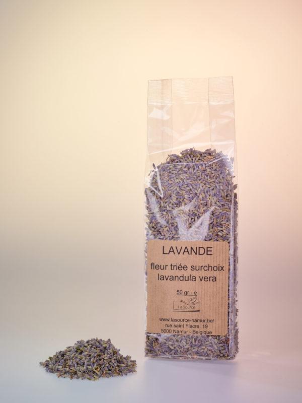 Photo du sachet de lavande en fleurs