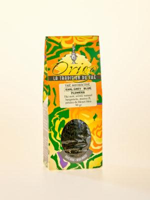 Image du thé Earl grey fleurs bleues