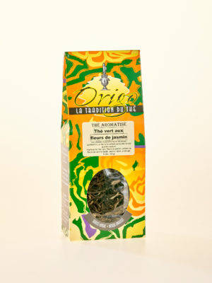 Embalage thé au jasmin