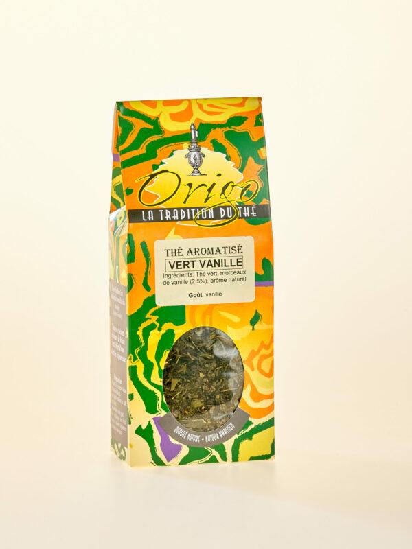Image thé vert à la vanille